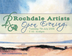 Rochdale Artists Open Evening 2009